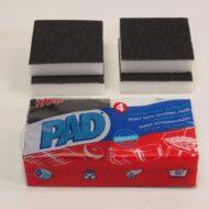 pad, pad spons, 651126, 3153036511266,Schuursponsen PAD - 4 st