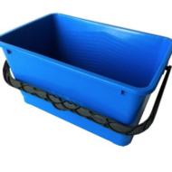 Raamwasemmer - Emmer rechthoekig 17 L.blauw A2168.03