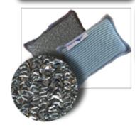 Flipper Dubbelzijdige keukenspons microvezel 4 stuks A9095