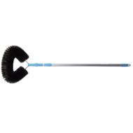 Spinnenborstel/ Raagbol harde haren op steel 1,5m